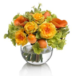 Posy Bowl of Roses