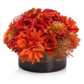 Seasonal flowers - posy bowl - very large